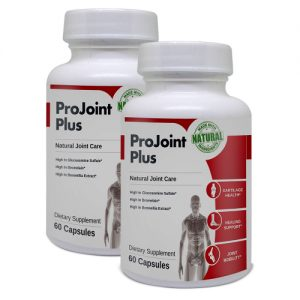 2 bottle image of ProJoint Plus joint relief formula