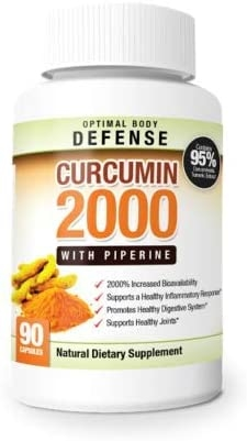Featured image for: Curcumin 2000 Review:  Is this the supplement to take for joint health?