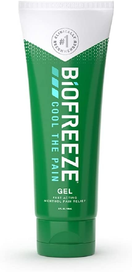 biofreeze tube of gel