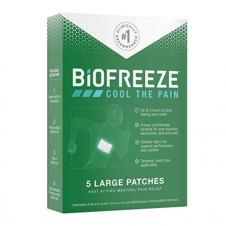 Featured image for: Biofreeze Patch Reviews:  # Pain Patch!! #  Does it really work!?