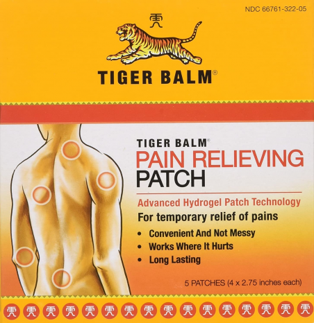 Featured image for: Tiger Balm Pain Relieving Patch Reviews & Ratings. ## It works!?