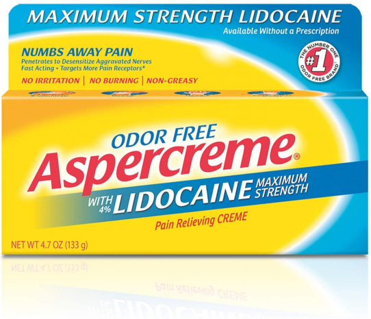 Featured image for: Aspercreme Lidocaine Reviews:  Odor Free  Find Out the Review Truth!!