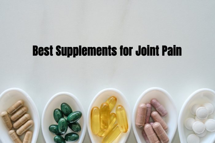 featured image best supplements for joint pain