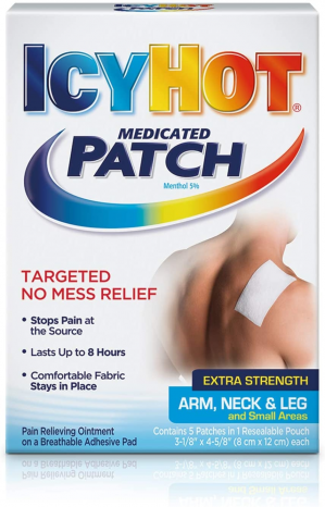 Featured image for: Icy Hot Patch Reviews:  It works & what consumers have to say!  Read More