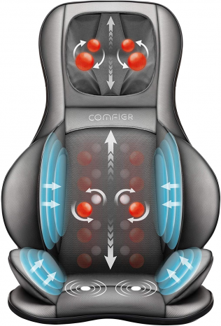 Featured image for: Comfier Shiatsu Massage Chair Pad Reviews